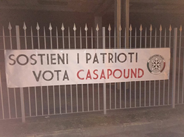 striscione patrioti tn